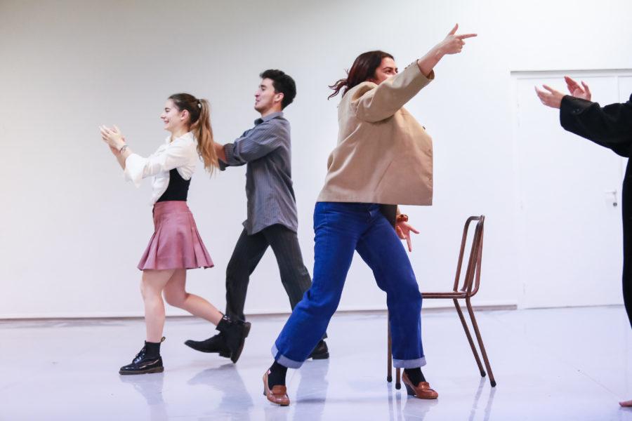 Theatre workshop Thomas Ryckewaert Image by Tine Declerck